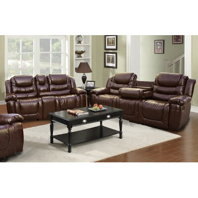 Beverly Fine Furniture Ottawa 2 Piece Bonded Le..