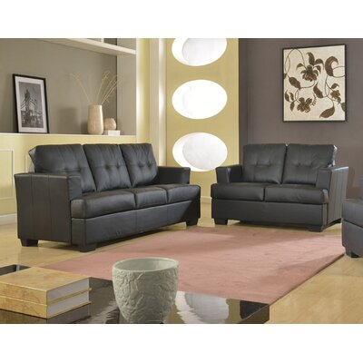 Beverly Fine Furniture Cecilia Sofa and Loveseat Set