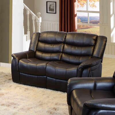 Beverly Fine Furniture Madison Reclining Loveseat