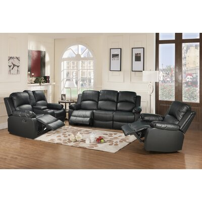 Beverly Fine Furniture Amado 3 Piece Reclining Living Room Set