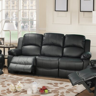 Ac Pacific Troy Transitional Reclining Sofa
