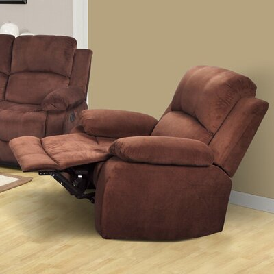Beverly Fine Furniture Denver Micro Velvet Recliner