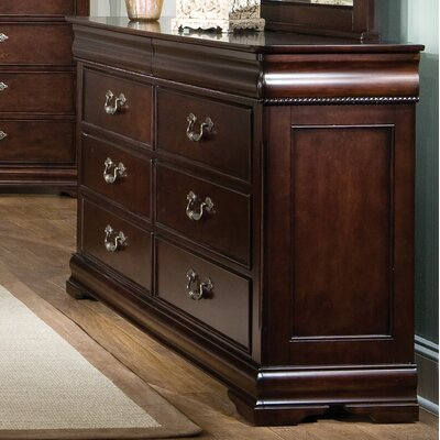 Standard Furniture Westchester 6 Drawer Dresser ..