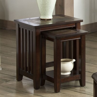 Standard Furniture Napa Valley 2 Piece Nesting Tables