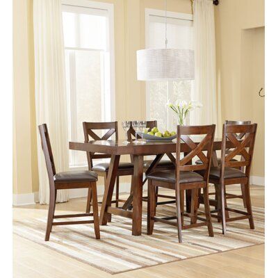 Standard Furniture Omaha Counter Height Extendable Dining Table