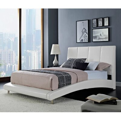 Wade Logan Sami Upholstered Platform Bed