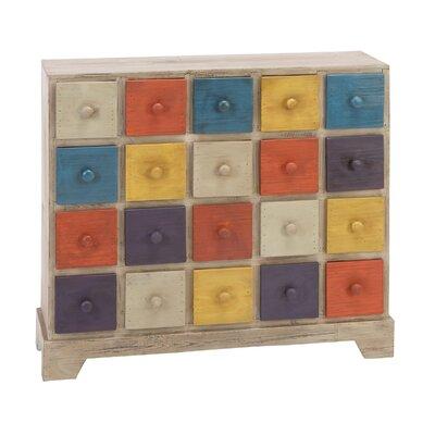 Cole & Grey 20 Drawer Dresser