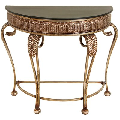 Cole & Grey Toscana Metal Console Table