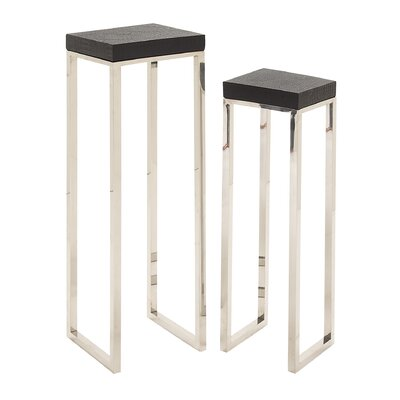 Cole & Grey 2 Piece Nesting Table Set Image