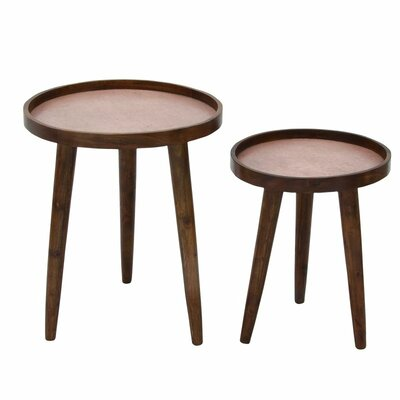 Cole & Grey 2 Piece Nesting Tables