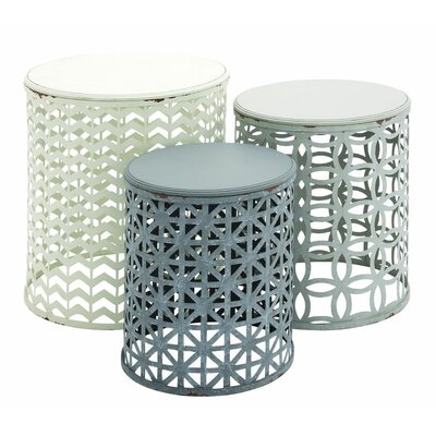 Cole & Grey 3 Piece Nesting Tables