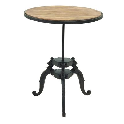 Cole & Grey Metal / Wood Accent End Table