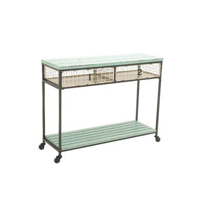 Cole U0026 Grey Metal Wood Storage Console Table U0026 Reviews | Wayfair
