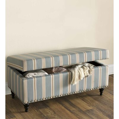 Plow & Hearth Upholstered Storage Bedroom..
