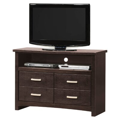 Glory Furniture Hillary 4 Drawer Media Chest