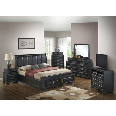 Darby Home Co Carroll Panel Customizable Bedroo..