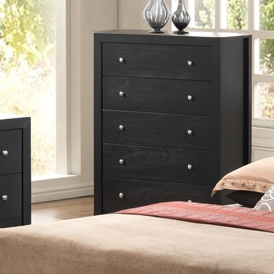 Glory Furniture Aries 5 Drawer Chest