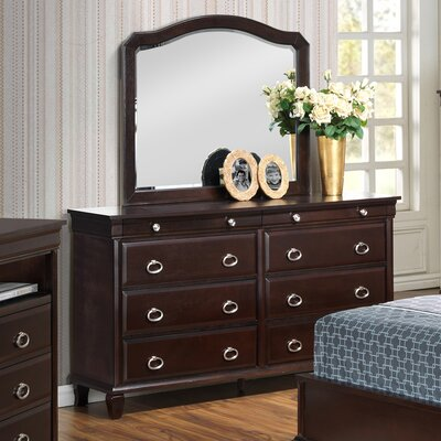 Glory Furniture 8 Drawer Dresser with Mir..