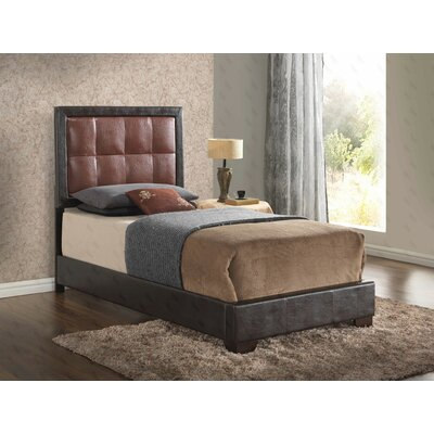 Glory Furniture Henri Upholstered Panel Bed