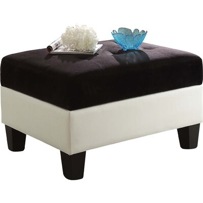 Glory Furniture Domino Storage Ottoman
