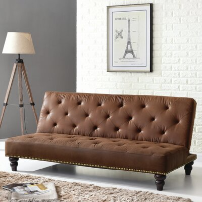 Rosalind Wheeler Paier Convertible Sleeper Sofa