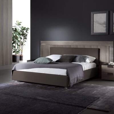 Rossetto USA Upholstered Platform Bed