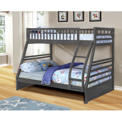 Wildon Home ® George Twin over Full Bunk..