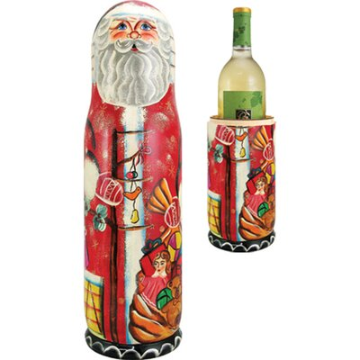 G Debrekht Russian Santa 1 Bottle Wine Bottle Box