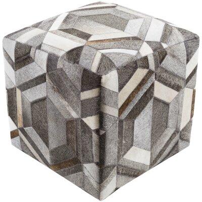 Brayden Studio Shaula Cube Pouf Ottoman