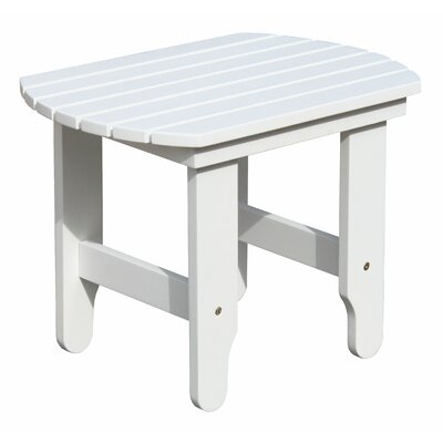 Douglas Nance Adirondack White End Table
