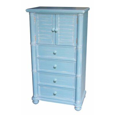dCOR design Palmetto Beach 4 Drawer Chest