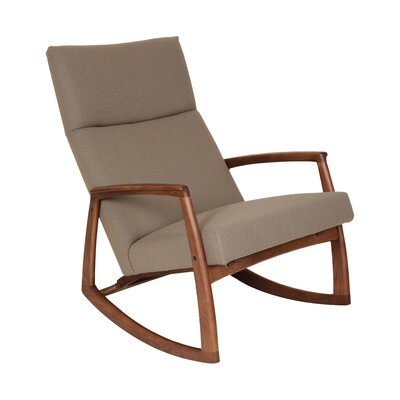 dCOR design The Bollnas Lounge Rocking Chair