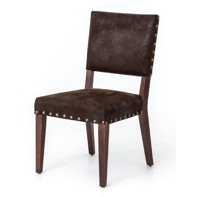 dCOR design Blake Nubuck Side Chair