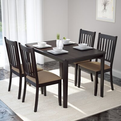 Darby Home Co Dunster 5 Piece Dining Set