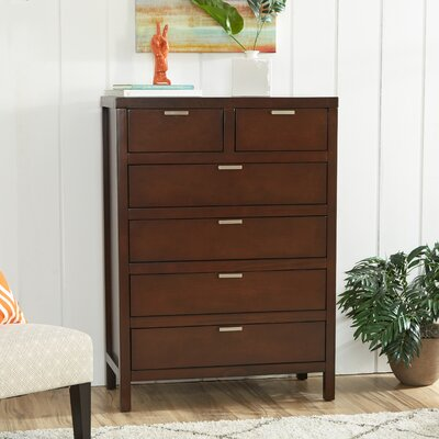 Mercury Row Juno 6 Drawer Chest