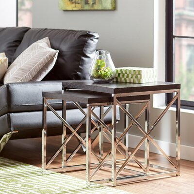 Mercury Row Rigel 2 Piece Nesting Tables