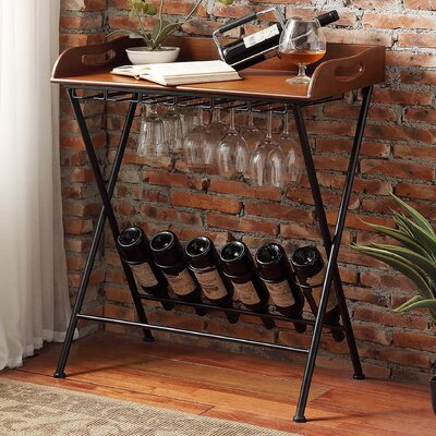 Mercury Row Woodbridge 6 Bottle Floor Wine Rack