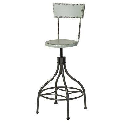 Mercury Row Adjustable Height Swivel Bar Stool
