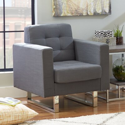 Mercury Row Lysander Arm Chair
