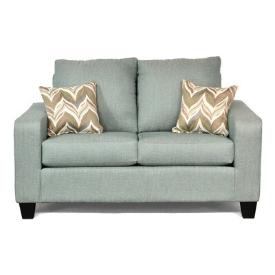 Mercury Row Audrey Modular Loveseat