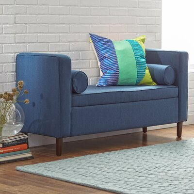 Mercury Row Rimo Upholstered Storage Bench