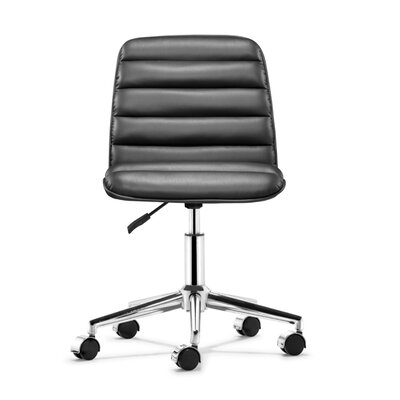 Mercury Row Ardito Mid-Back Adjustable Leatherette Conference Chair