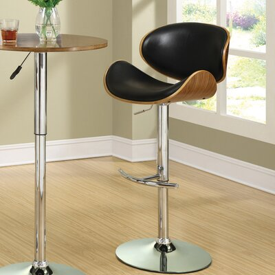Mercury Row Bacchus Adjustable Height Bar Stool