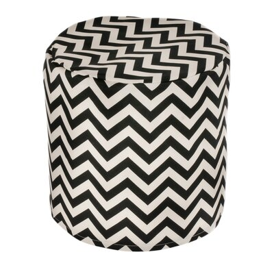 Mercury Row Arcadios Chevron Bean Bag Ottoman