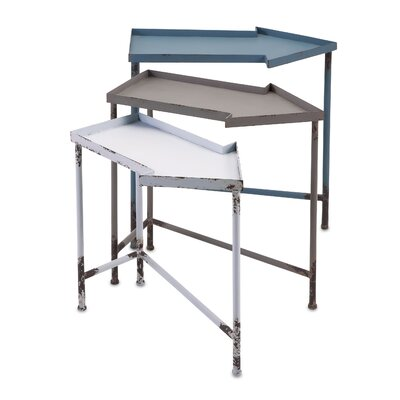 Mercury Row Herodion 3 Piece Nesting Tables Set