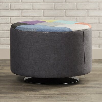 Mercury Row Mercurio Swivel Ottoman