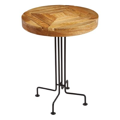 Mercury Row Ansari Slatted End Table