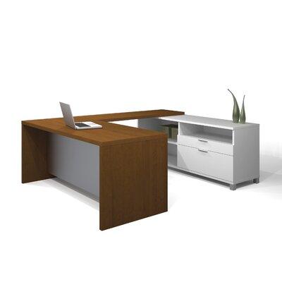 Mercury Row Ariana U-Shape Desk Office Suite