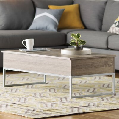 Mercury Row Phi Coffee Table with Lift Top