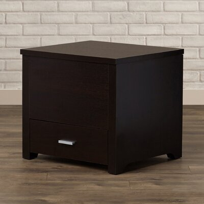 Mercury Row Kalani Storage Trunk Style End Table